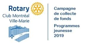 Campagne de collecte de fonds pour les Œuvres du Rotary MVM : programmes jeunesse.