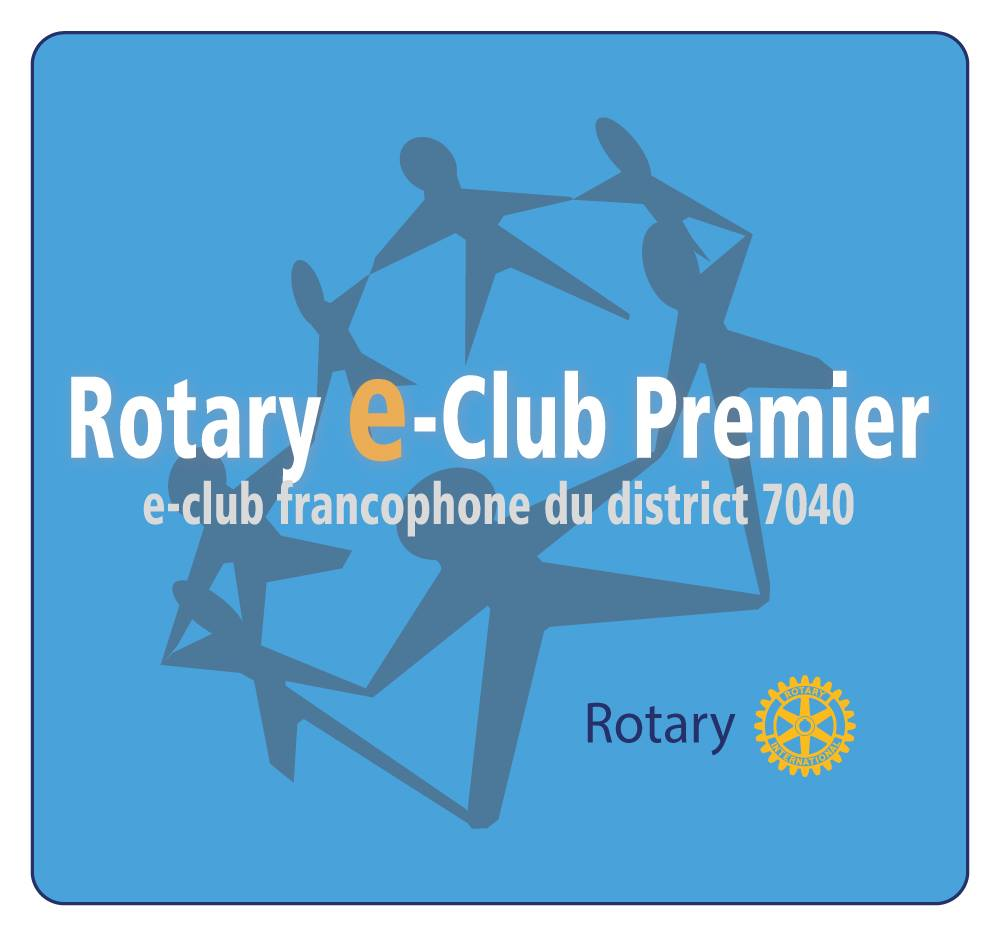 <p>Le Rotary e-Club Premier</p> <p>e-club francophone du district 7040</p>